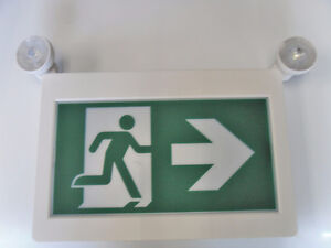 Emergency Exit Sign/Running Man Combo/Remote-Head-Sale