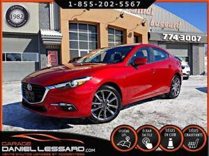 Mazda Mazda3 GT, TOUT ÉQUIPÉ, TOIT, HEAD UP, CAM RECUL, MAG 18 2