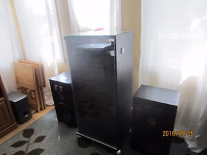 Pioneer Stero System with Cabinet