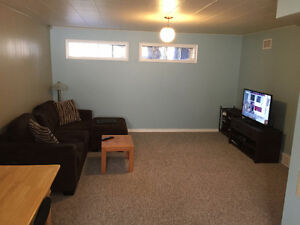 Renovated basement apartment for rent