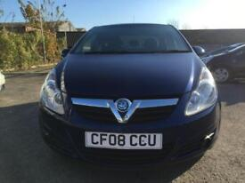 2008 Vauxhall Corsa Hatch 5Dr 1.0 12V 60 Life AC Petrol blue Manual