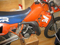TWO 1984 CR 250 R's ......