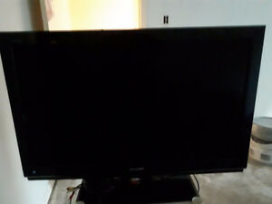 "42"" Sharp TV, comes with audio, coaxial and hdmi cable"