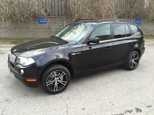2007 BMW X3 3.0si PANORAMIC ROOF SHARP LOOKING
