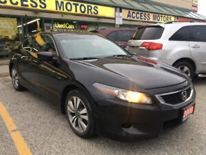 2008 Honda ACCORD EX-L Coupe Clean Carproof 08 ACCORD COUPE