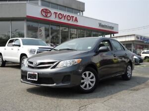 Toyota Corolla CE Enhanced Convenience Package 2013