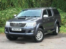 Toyota Hi-lux 3.0 D-4D Invincible Crewcab Pickup 4dr DIESEL MANUAL 2013/13