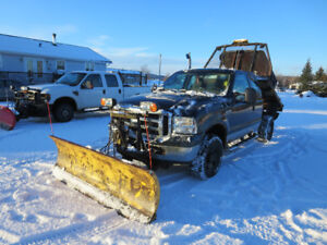 2007 Ford F250 XLT including PLOW
