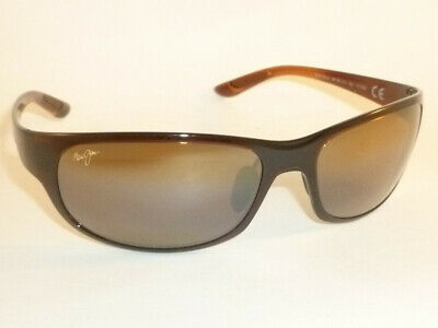 Authentic Polarized MAUI JIM TWIN FALLS Sunglasses Rootbeer H417-26B Bronze Lens
