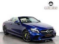 2019 Mercedes-Benz C Class C220d AMG Line Premium Plus 2dr 9G-Tronic Auto Cabrio