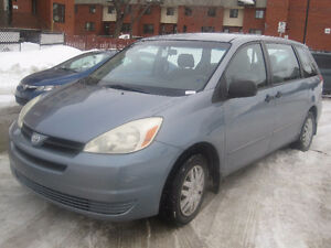 2004 Toyota Sienna CE, Automatique, Air conditionné, 3500$ nego.