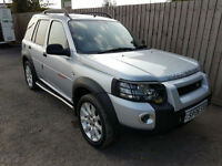 2006 06 Land Rover Freelander 2.0Td4 Sport 5 Door Manual 42.2 mpg 4X4 May p/x