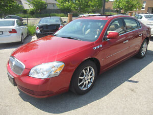 2008  BUICK LUCERNE CXL LEATHER ROOF 135000 KM 3 YEARS WARRANTY