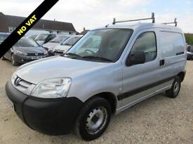 2005 05 PEUGEOT PARTNER 2.0 LX 800 HDI SILVER 89276 MILES ONLY DIESEL