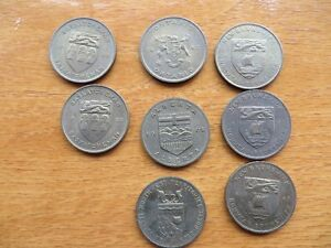 Provincial Flower and Coats of Arms Coins/Tokens