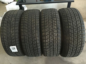 4 Bridgestone Blizzak DM-V1 Snow Tires (Good Condition)