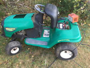 """Weed eater lawn tractor 38"""" deck"""