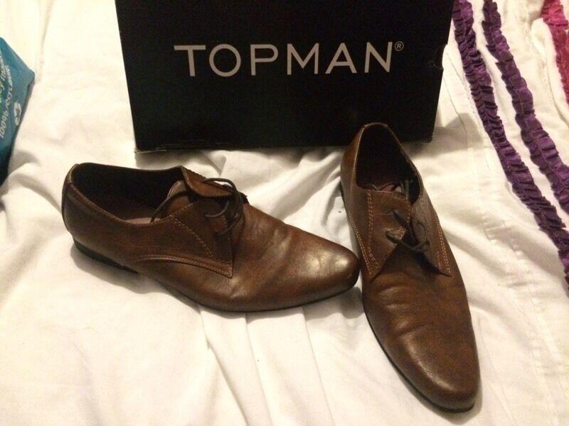 Mens Topman shoes size 10