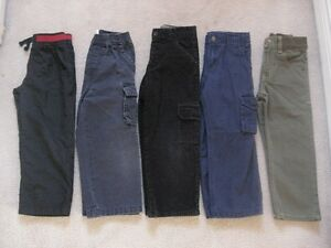 Boys Toddler Pant Lot Size 4T (5 Pairs For Only $15.00)