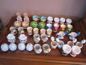 Collection of egg-cups