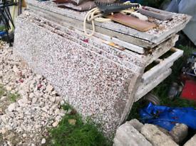 Concrete shed panels - free