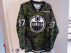 Oilers McDAVID Jersey