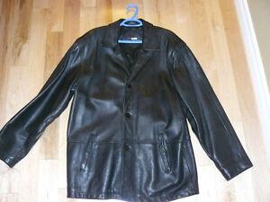 Mens Leather Coat St. John's Newfoundland image 1