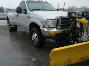2004 Ford F-350 Pickup Truck PLOW 4X4