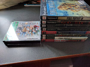 PS2 and PS1 Games