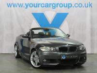2008 BMW 1 SERIES CONVERTIBLE 120I M SPORT CONVERTIBLE PETROL