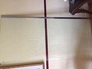 Vitre de douche 36x78, shower wall
