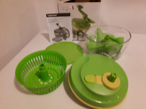 NEW TUPPERWARE QUICK CHEF PRO CHOPPER- Great shower gift !!!