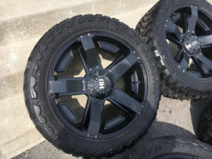 Mags Fast HD 22'' sur pneu Toyo Open Country LT33/12.5/22
