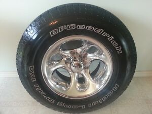 SHARP~ 4 BF GOODRICH RADIAL TIRES ON AMERICAN RACING RIMS