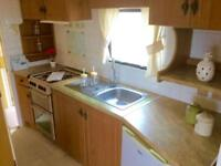 Static Caravan Nr Clacton-on-Sea Essex 2 Bedrooms 6 Berth Cosalt Torino 2002