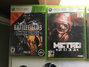 Selling these Xbox 360 games