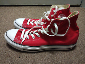 Converse All Star Hi Red M9621C Size 13