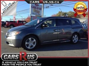2011 Honda Odyssey Touring,Navi.,DVD,heated leather,sunroof and