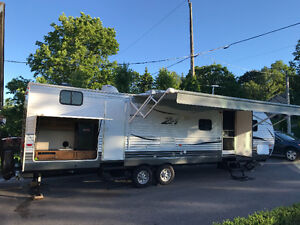 2017 Crossroads Z1 32ft travel trailer with bunkhouse