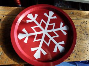 Brand New Winter/Christmas Metal Tray