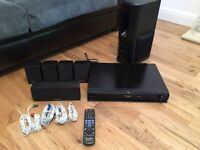 Panasonic DVD home cinema surround system with docking station