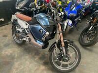VMOTO SOCO TC Blue Cafe Racer Style Electric Automatic Motorbike
