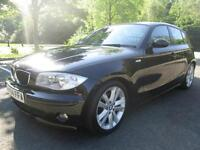04/54 BMW 118D SPORT 2.0 5DR HATCH IN MET BLACK WITH SERVICE HISTORY