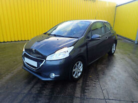 2014 PEUGEOT 208 ACTIVE 1.2 PETROL 5 SPEED