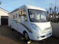 Hymer Exsis i588 A class four berth motorhome with garage