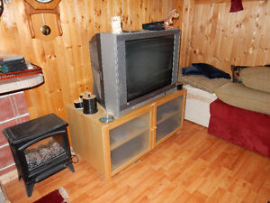 """Free 32"""" TV with stand"""