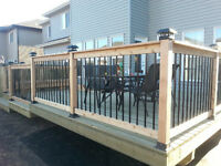 DECKS & FENCES with M3 Developers Ltd. Call/text  780-604-7566