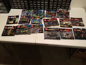 Lot of lego polybags (dc, star wars, super heroes, monster, etc)