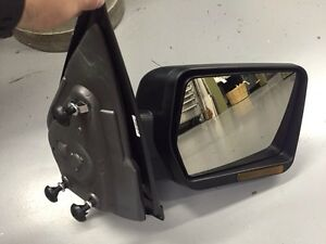 New Ford F-150 passenger side mirror. Heated, powered and signal