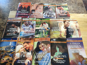 Romance book lot ( 14 read once books for $20) Kingston Kingston Area image 1